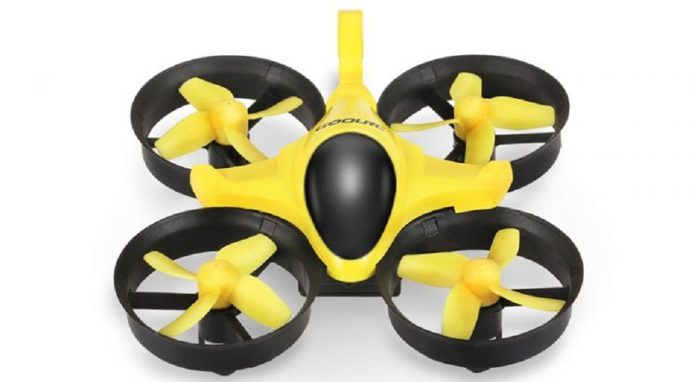 yellow color toy drone