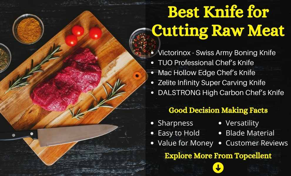 Best Knife for Cutting Raw Meat