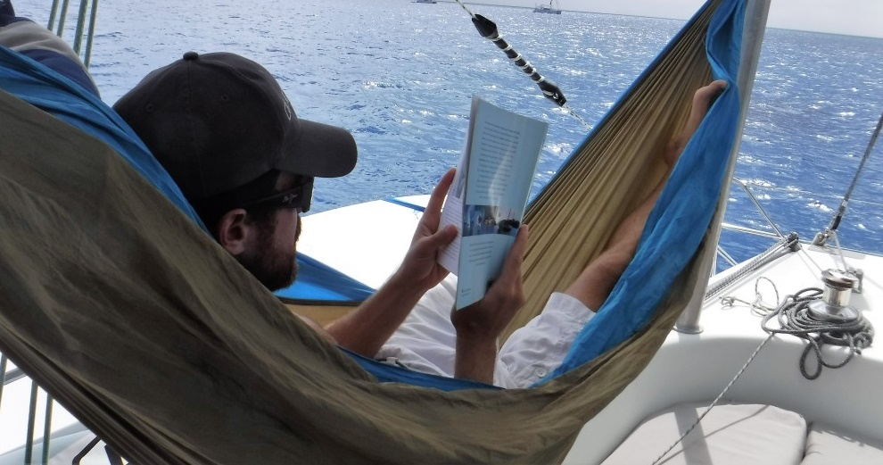 hammock on the Yacht