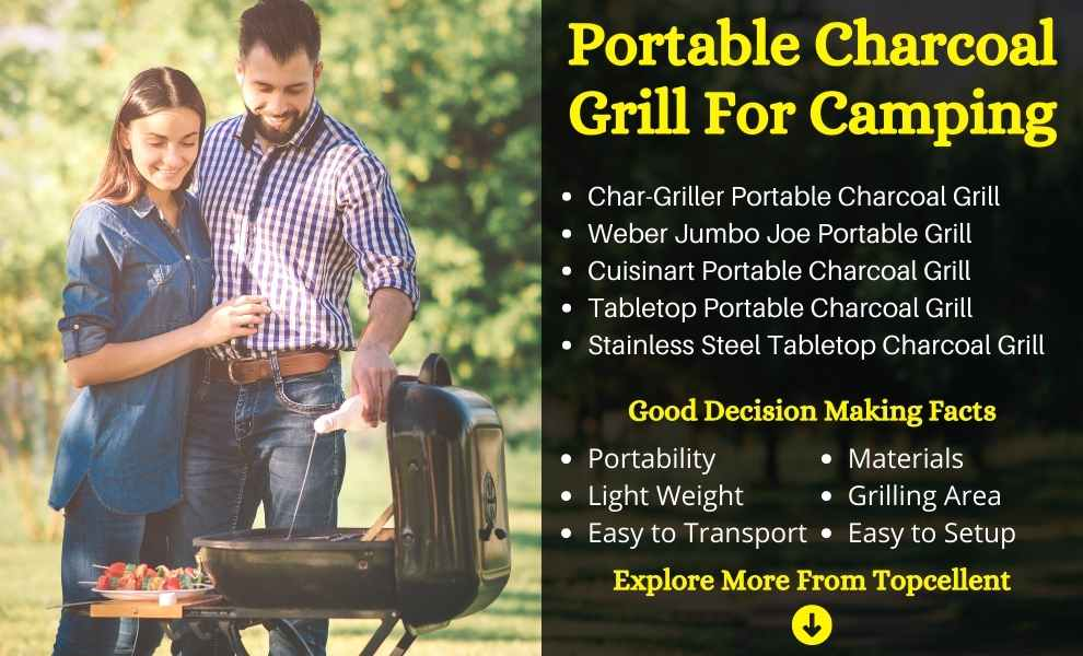 Best Portable Charcoal Grills For Camping
