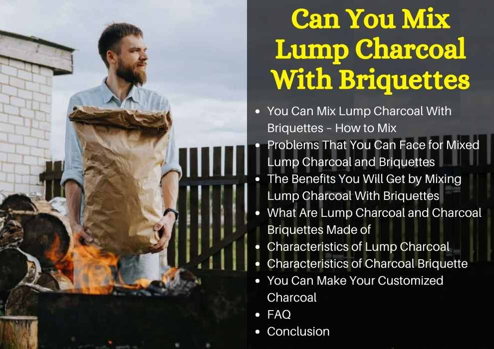 Can You Mix Lump Charcoal With Briquette