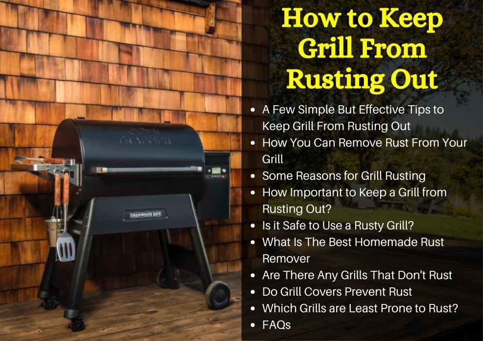 how to keep a grill from rusting out