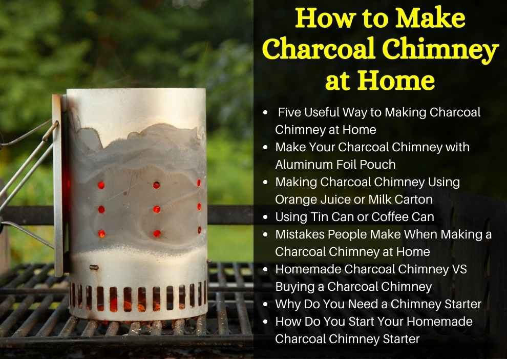 How to Make Charcoal Chimney