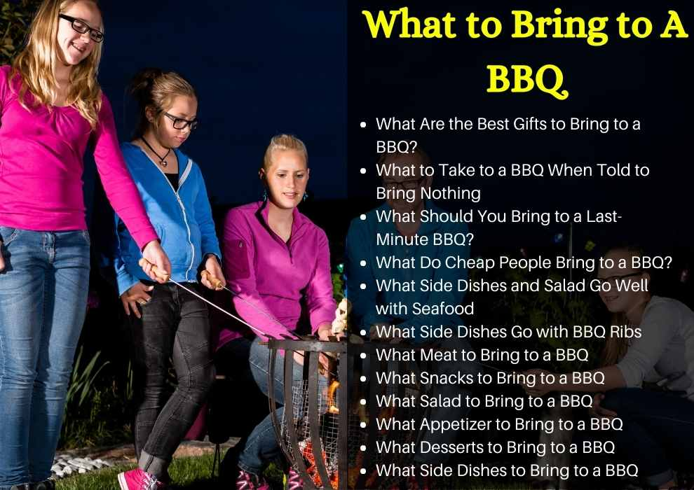 What to Bring to A BBQ