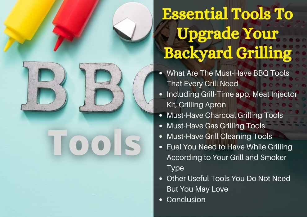 common grilling tools