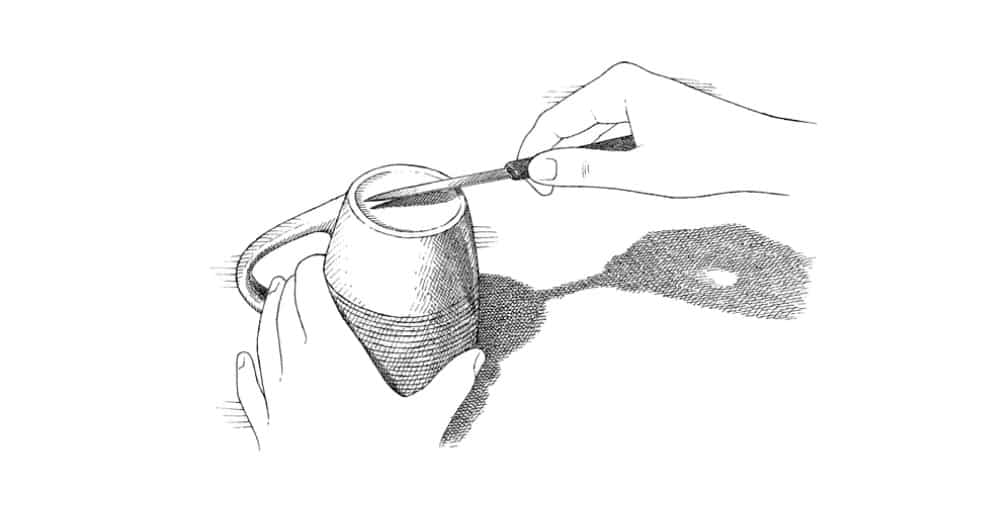 sharpen with coffee cup min