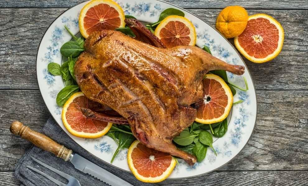 Christmas Dinner Duck