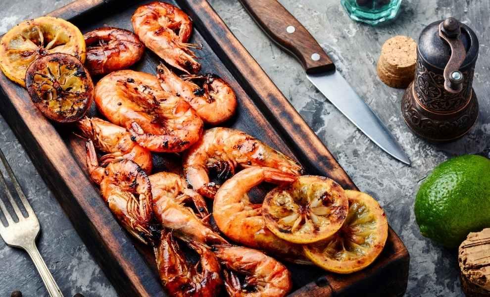 Delicious Smoked Shrimp