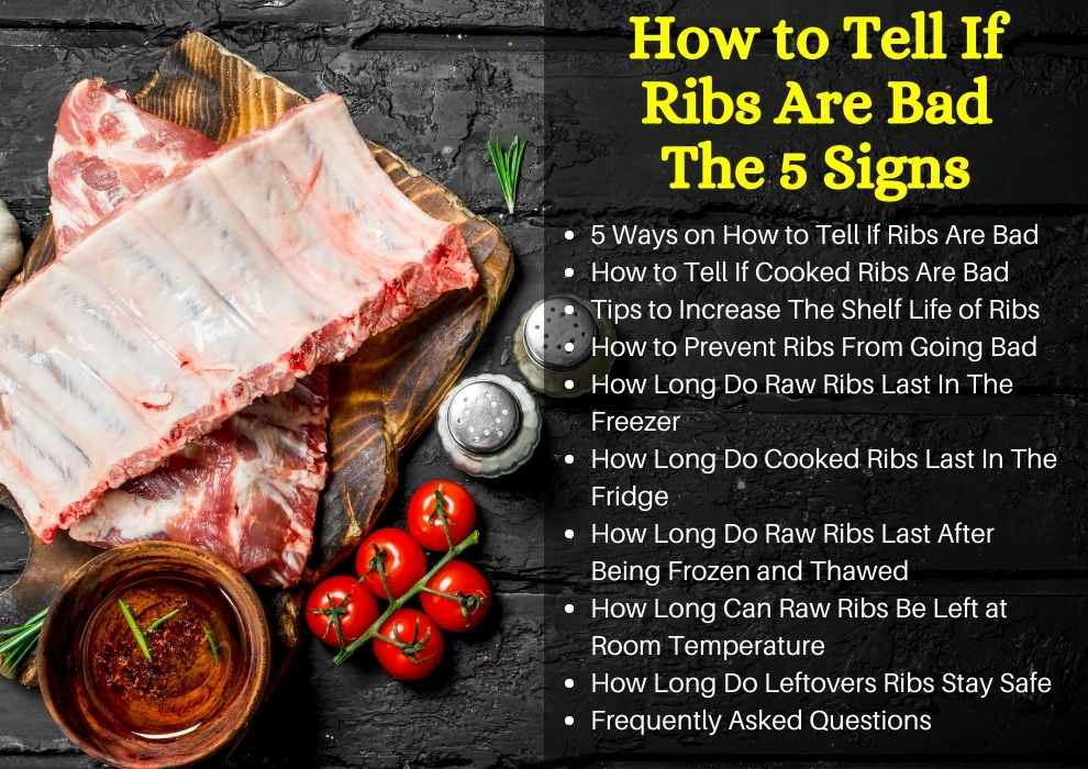 how to tell if ribs are bad