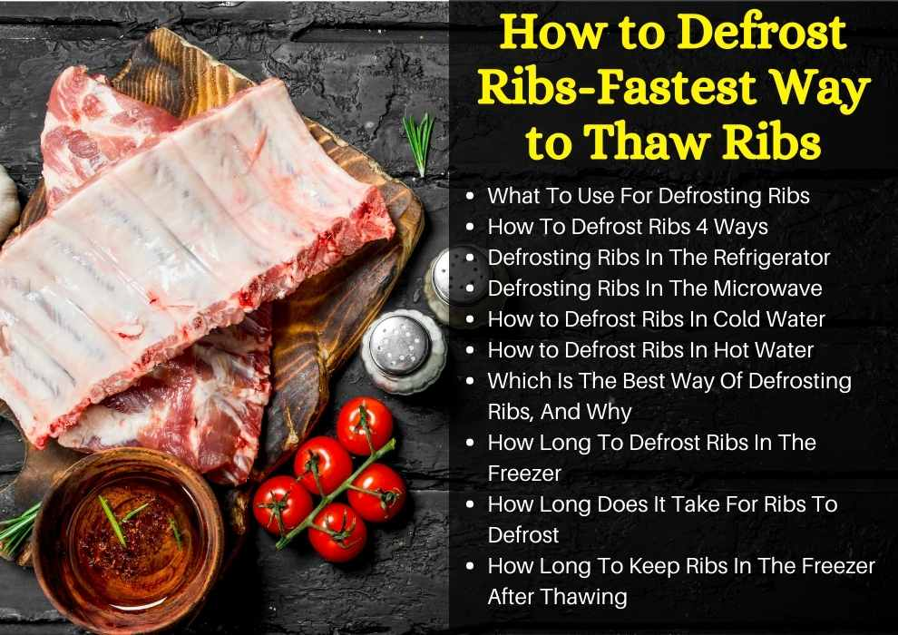 How to Defrost Ribs