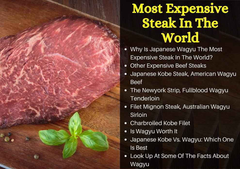 Most Expensive Steak In The World
