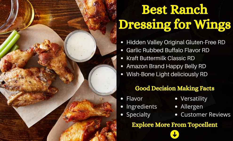 Best Ranch Dressing for Wings