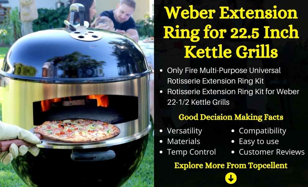 Weber Extension Ring for 22.5 Inch Kettle Grills