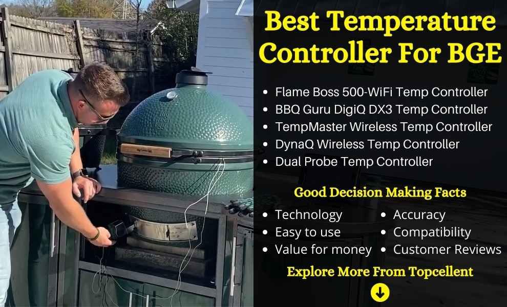 best temperature controller for big green egg