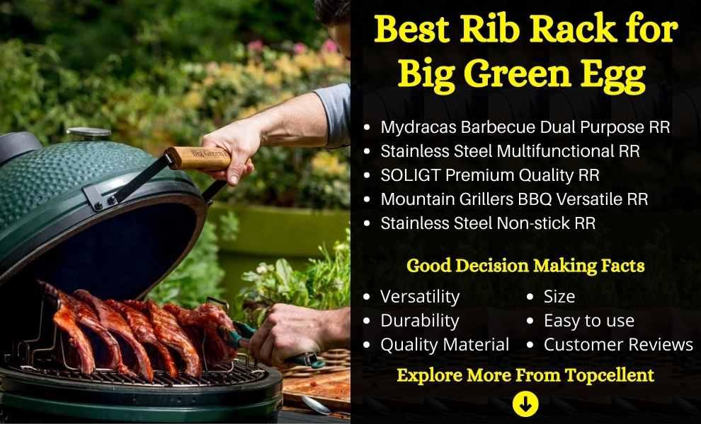 Best Rib Rack for Big Green Egg
