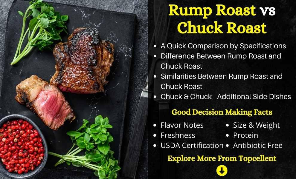 Rump Roast vs Chuck Roast