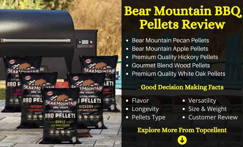 bear mountain bbq pellets review