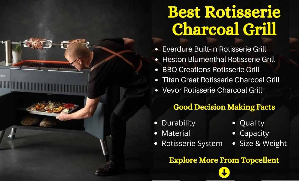 best rotisserie charcoal grill