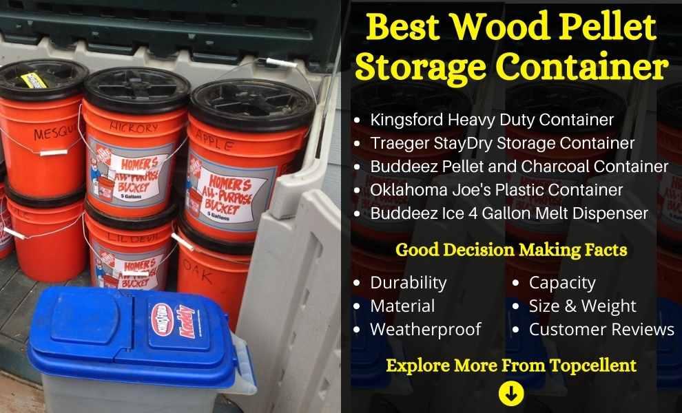 Wood Pellet Storage Container